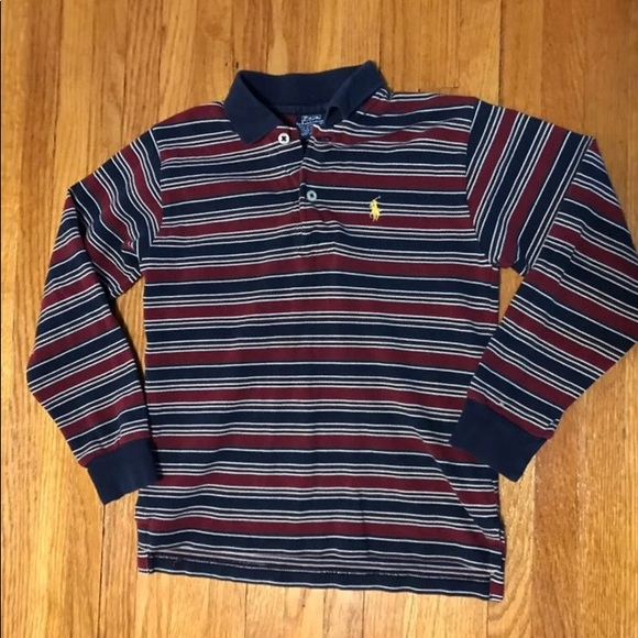 96f8ea09b Ralph Lauren Shirts & Tops   Boys Vintage Size 7 Striped Polo   Poshmark